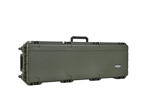 SKB Injection Molded 50-Inch Rifle Case with Layered Foam (OD Green) (Hard Foam Molded)