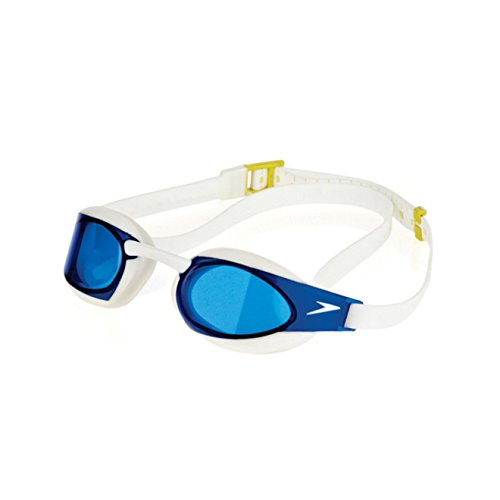 Speedo 7508026 Adult Fastskin3 Elite Goggle, Blue - OS -