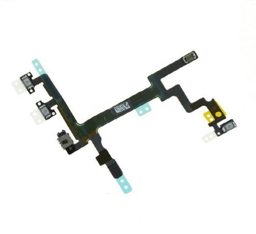 ePartSolution- iPhone 5 Power Volume Button Flex Cable Replacement Part USA Seller