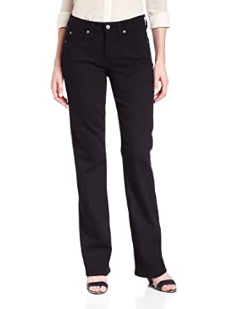 Miraclebody by Miraclesuit Women's Samantha Boot Leg Jean, Licorice, 2