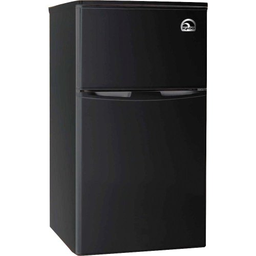 Igloo FR832 BLACK Fridge Freezer Black