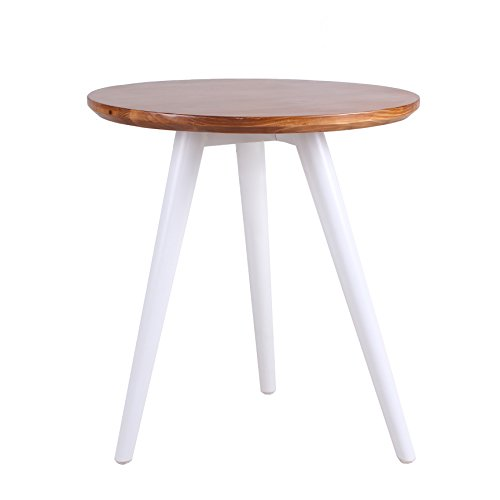 Porthos Home Iris Side Table, White - Iris Living Room Table