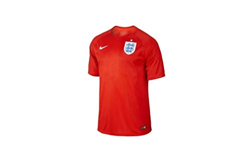 Nike England Away Stadium Jersey World Cup 2014 [Challenge Red] (Nike Dri Fit Drop Needle)