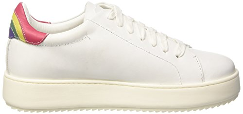 Twin Set Damen Ca7pf3 Low-top Bianco (bianco Ottico)