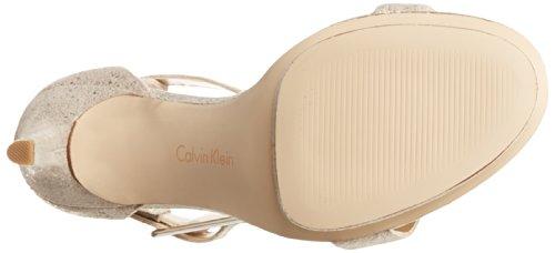 Calvin Klein Vivian Ante Sandalia Mushroom