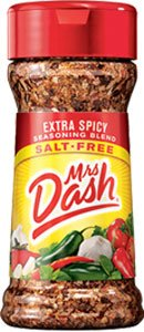 Mrs Dash Extra Spicy Salt Free Seasoning Blend Shaker 2.5 oz by Mrs. Dash