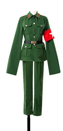Dreamcosplay Anime Hetalia: Axis Powers China Green