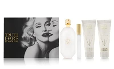 Madonna Truth or Dare Gift Set EDP Spray, Body Lotion & Shower Gel