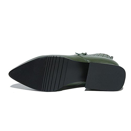 Vera Delle Brevi Moda Per Nsxz 36 Donne Pelle Zip Stivali nero In Elastica qSxt6H8