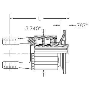 Radial Clutch - Walterscheid Radial Pin Clutch Part No: W358570