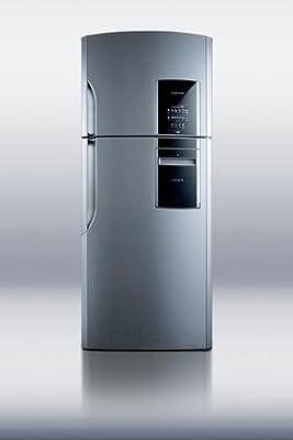 Summit FF1935PLIM Refrigerator, Platinum