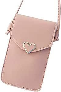 محفظة كروسبودي صغيرة للنساء حقيبة كتف محفظة للهاتف الخلوي