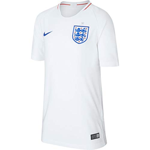 Nike 2018-2019 England Home Football Soccer T-Shirt Jersey (Kids)