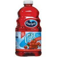 Ocean Spray Light Cranberry Juice 64 oz (Pack of 8)