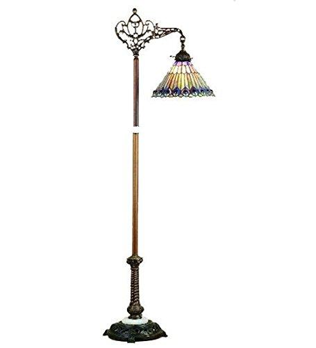 "Meyda Tiffany 65841 Lighting, 60"" Height, Bronze/Dark"