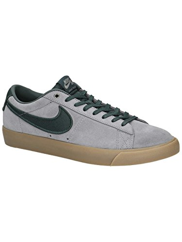 Uomo Nike Sb Giacca Zoom Bassa Xt Scarpa Da Skate Gunsmoke / Nero-abete