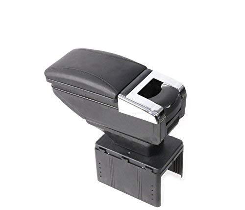 Kingsway kkmcarmtrybk00088 Car Armrest for Hyundai Xcent  Black