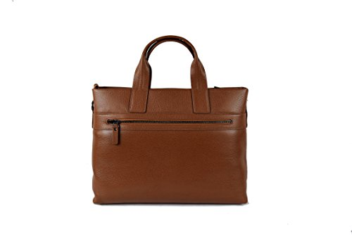 37x32x11 Pelle Zerimar Tracolla Tan Borsa Valigetta Misure Vintage Bag Cm Satchel Messenger FFO5xzqZ