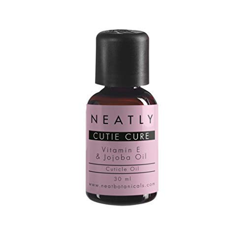 Cuticle Remover by Neatly | Organic Skin Care with Vitamin E oil and Jojoba oil | Lavender Oil Manicure Set | Alternative to gel nail polish remover
