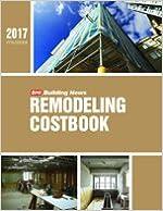 BNI Building News Remodeler's Costbook 2017
