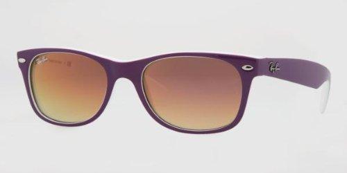 New Ray para Gafas Ban de Wayfarer Weiß hombre sol wqST5qA