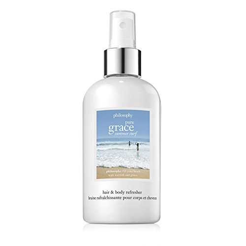 Philosophy Pure Grace Summer Surf Hair and Body Refresher, 8