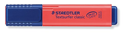 Staedtler Textsurfer Classic Highlighter - Red (Pack of 10) Photo #2
