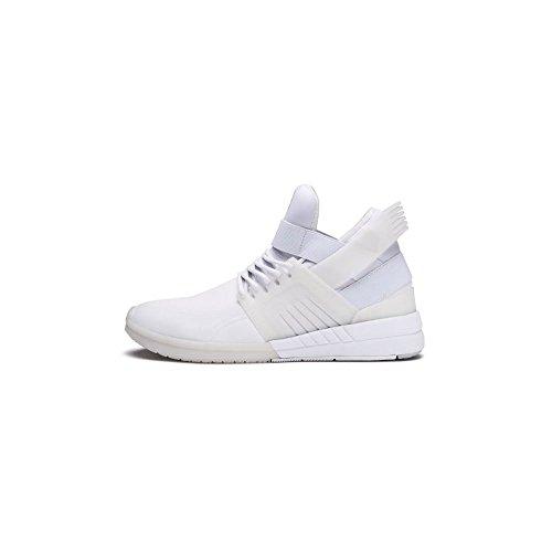 Supra Mens Skytop V White White Skate Shoes 'White