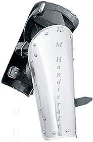 L M Handicrafts New Medieval Steel Warrior Greaves Roman Spartan Greaves - 20 Gauge Steel