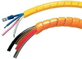 Panduit T12F-C0 Spiral Wrap, Weather Resistant Polyethylene, Black (100-Foot)