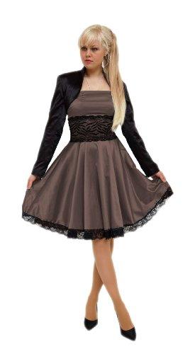 Young Donna Corsetto Fashion Vestito Maniche lunghe Choko nwnArPfp