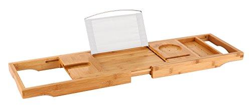 Luxury Bamboo Bathtub Caddy Extendable product image