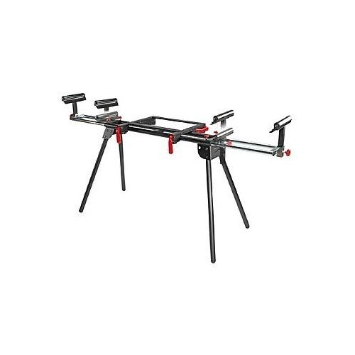 Craftsman Universal Miter Saw Stand. Compact Design That Is Easy to Transport and Store. Two Height-adjustable,weighs Less Than 25 Pounds,supports up to 330 Pounds,support Arms Extend up to 80 Inches.