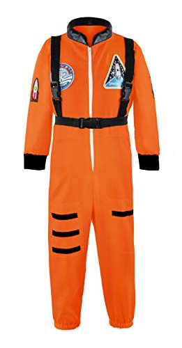 Padete Boys Children Astronaut Role Play Costume Kids Halloween Dress Up (2-3 Years, -