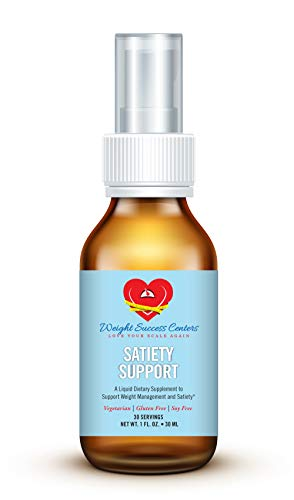 Satiety Support Hunger Control Spray - Natural Appetite Suppressant - Made with Dyglofit - All-Natural Hunger Suppressant - Suitable for Vegetarians - Gluten and Soy Free - 30 Servings