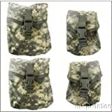 Molle ACU 4 Piece SAW Pocket Set US Military.