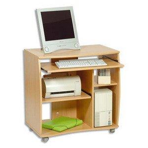 Bureau multimedia informatique Htre 3 tageres rglables dt 2