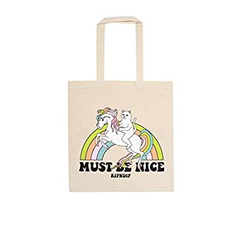 Rip N Dip My Little Nerm Tote Shopper Bag One Size Natural