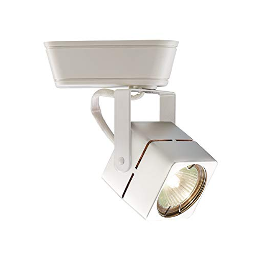 Lightolier Compatible Finish - WAC Lighting LHT-802 Low Voltage Track Heads Compatible with Lightolier Systems, White
