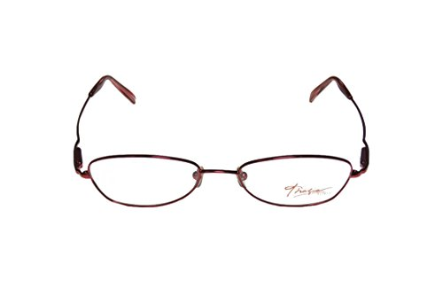 Thalia Fiesta WomensLadies Ophthalmic Hot Style Designer Full-rim Spring Hinges EyeglassesEyeglass Frame (51-17-140 Sangria)