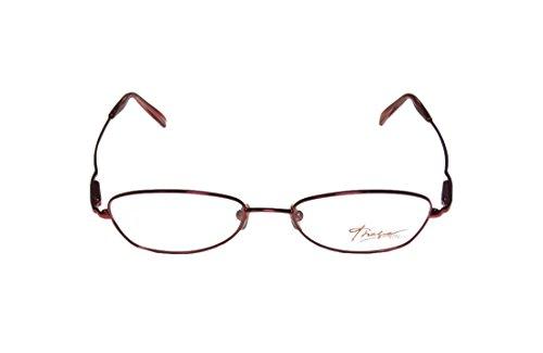 Thalia Fiesta Womens/Ladies Ophthalmic Hot Style Designer Full-rim Spring Hinges Eyeglasses/Eyeglass Frame (51-17-140, Sangria)
