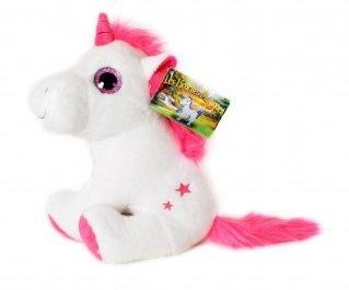 Les Licornes Magiques - Peluche Unicornio Blanco 30cm - Muy buena calidad - Surtido de colores