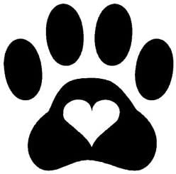 decal 1-1.5 inches 40-70 Dog Stickers