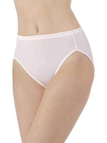 Vanity Fair Women's Cooling Touch Hi Cut Panty 13124, Champagne, Large/7