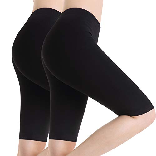 Ferrieswheel Story Women Thin Safety Shorts Under Skirt Legging Stretch Breathe Bike Short ()