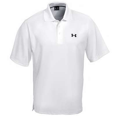 Under Armour Team Performance Polo White/Black 3XL