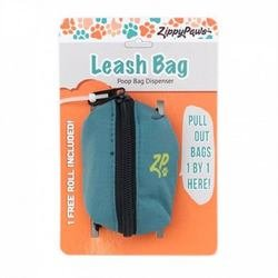 Pet Leash Holder (ZippyPaws Dog Poop Bag Holder Leash Attachment (Forest Green))