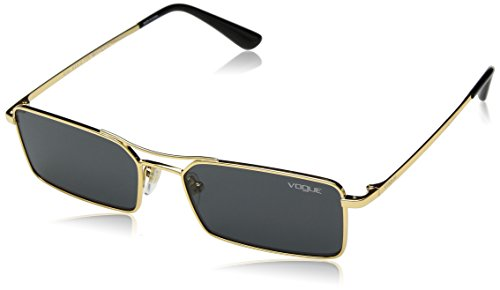 - VOGUE Women's 0vo4106s Rectangular Sunglasses, Gold, 55 mm