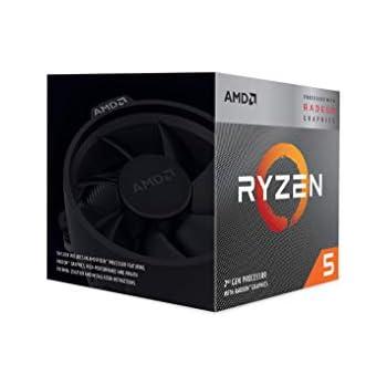 Amazon com: AMD Ryzen 3 2200G Processor with Radeon Vega 8 Graphics