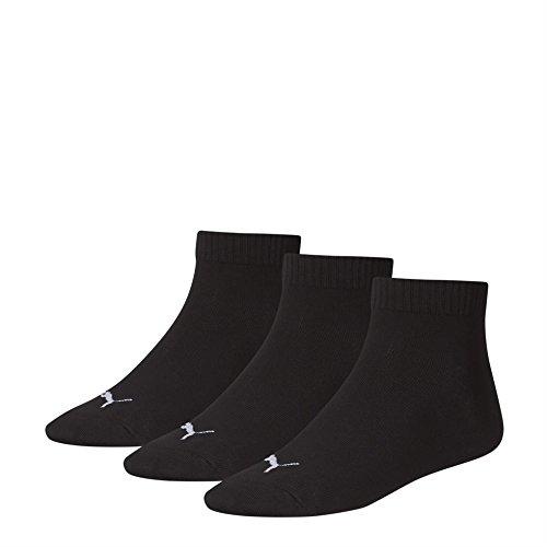 PUMA Unisex Quarters Socken Sportsocken 6er Pack, Black, 39-42 (6er Pack)